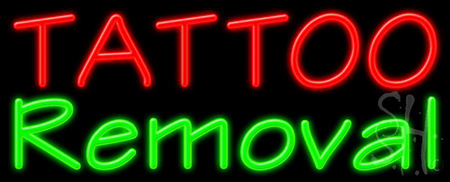 Tattoo removal neon sign tattoo neon signs every thing neon for Neon tattoo signs