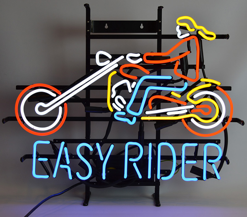Easy Rider Motorcycle Neon Sign