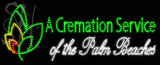 Custom A Cremation Service Led Sign 2