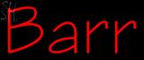 Custom Barr Neon Sign 1