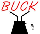 Custom Buck Sculpture Sign 2