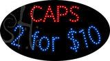 Custom Caps 2 For $10 Led Sign 1