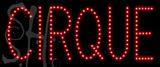 Custom Cirque Led Sign 1