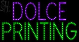 Custom Dolce Printing Led Sign 1