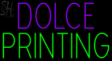 Custom Dolce Printing Neon Sign 4