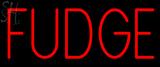 Custom Fudge Neon Sign 1