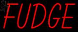 Custom Fudge Neon Sign 2