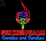Custom Fun Knee Pharm Logo Led Sign 2