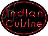 Custom Indian Cuisine Led Sign 2