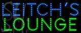 Custom Leitchs Lounge Led Sign 3
