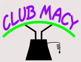 Custom Macy Club Neon Sculpture 1