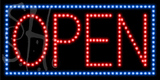Custom Open Led Outdoor Sign 01