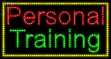 Custom Personal Training Led Sign 1