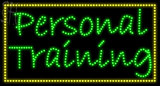 Custom Personal Training Led Sign 3