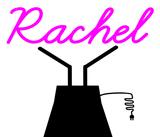 Custom Rachel Sculptures Sign 1