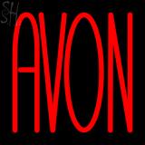 Custom Red Avon Neon Sign 2