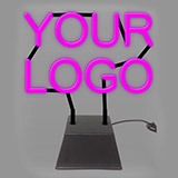 Custom Sculpture Logo Neon Sign 3
