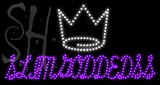 Custom Slimgoddedss Crown Logo Led Sign 1