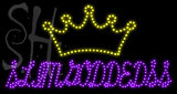 Custom Slimgoddedss Crown Logo Led Sign 2