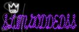 Custom Slimgoddedss Crown Logo Led Sign 3