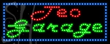 Custom Teo Garage Led Sign 3