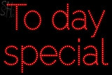 Custom To Day Special Led Sign 2