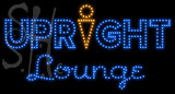 Custom Upright Lounge Led Sign 1