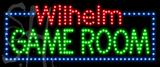 Custom Wilhelm Game Room Led Sign 4