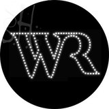Custom Wr Logo Led Sign 1