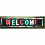"EPL-320 1*3 Programmable LED Sign - 15""H x 41""L"