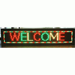 "EPL-P121696RG Programmable LED Sign - 11""H x 49""L"