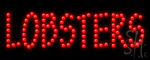 Lobsters Led Sign