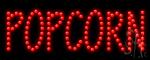Popcorn Led Sign