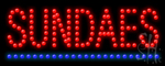 Sundaes Led Sign