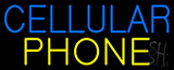 Cellular Phone Neon Signs