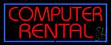 Computer Rental Neon Sign