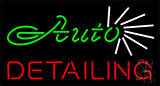 Auto Detailing Neon Signs