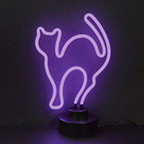 Cat Neon Sculpture