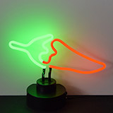 Chilli Pepper Neon Sculpture
