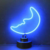 Moon Neon Sculpture