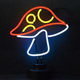 Mushroom Neon Sculpture