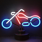 Chopper Neon Sculpture