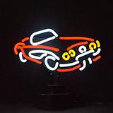 Roadster Neon Sculpture