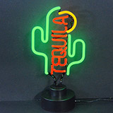 Tequila Cactus Neon Sculpture