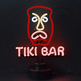 Tiki Neon Sculpture