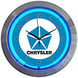 Chrysler Pentastar 15 Inch Neon Clock