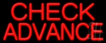 Check Advance Neon Signs