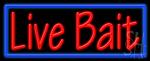 Live Bait Neon Sign