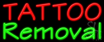 Tattoo Removal Neon Sign