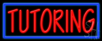 Tutoring Neon Sign